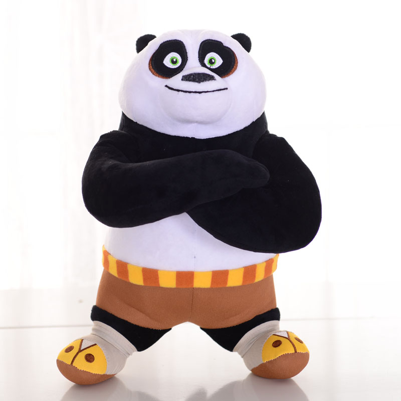 1pc 8 20cm Kung Fu Panda Stuffed Animal Plush Toys Cute Doll Collectible Soft Stuffed Anime Doll Baby Kids tac кпб tас ranforce детский 3 12 лицензия 1 5 сп kung fu panda power 7040b 8800002025