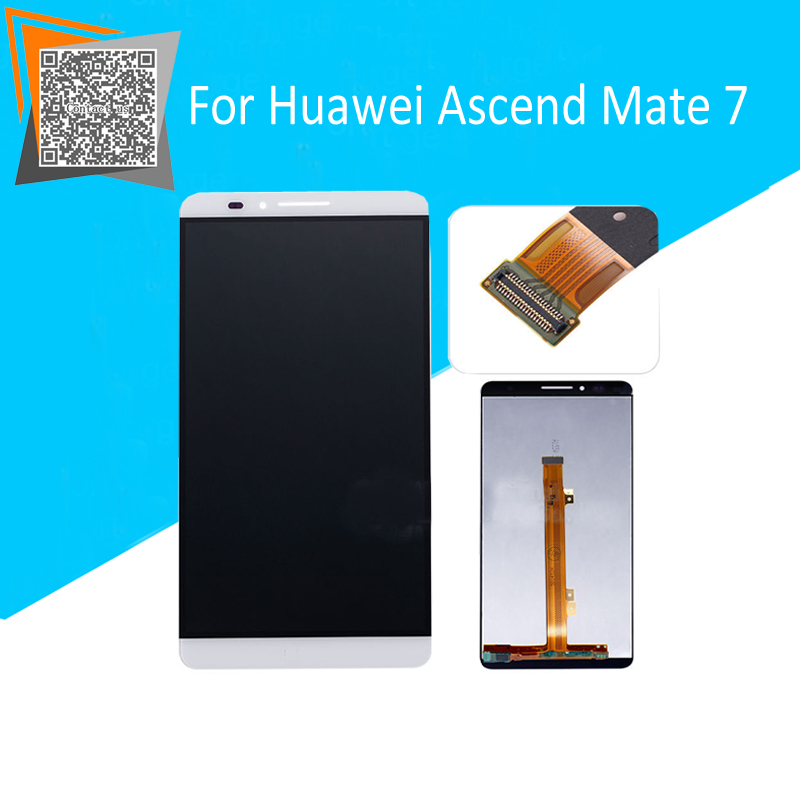 NEW Original LCD Screen 6 For Huawei Ascend Mate 7 LCD Display with Touch Screen Digitizer Full Assembly