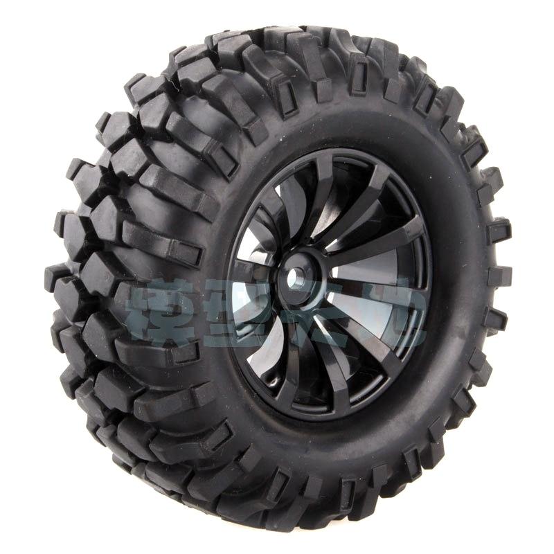 4pcs/lot 1.9 Simulated Climbing Tire Cc01 D90 Super Grip 96mm Tires