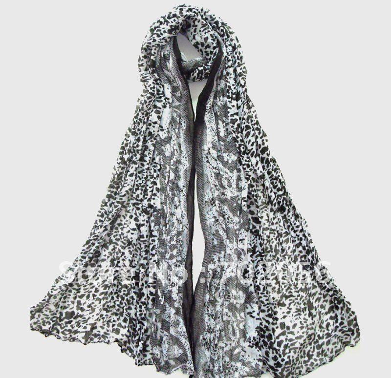 Leopard print   Scarf   Neck   scarves     scarf     wraps   shawls 180*77cm 12pc/lot #2106