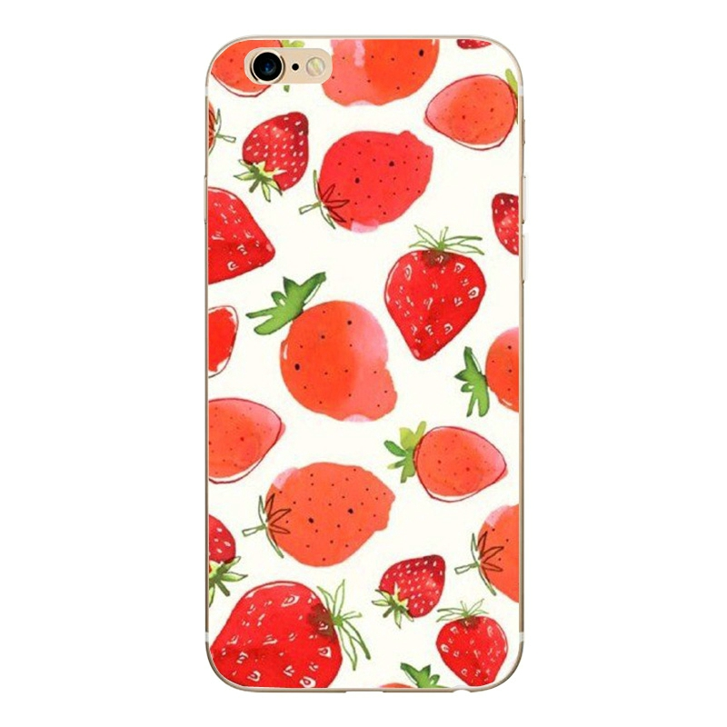 GLSHST Cool summer series For iPhone 7 Case Silicone Painted Cartoon Mobile Phone Cover Shell TPU Protective Fundas For iPhone 7 (5)