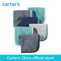 Carter's 6pcs baby children kids 6-Pack Terry Washcloths 126G396,sold by Carter's China official store