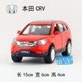 Новое DIYADUO 1/32 вагон-весов игрушки HONDA CRV внедорожник литья под давлением металл звуком и отступить автомобиль модели игрушка для подарка / дети
