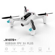 Hubsan X4 Plus H107D FPV drone dengan 720 P HD Kamera 6-axis Gyro RC Quadcopter RTF