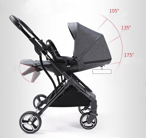 carrinho de bebe dobravel pode sentar reclinaveis criancas
