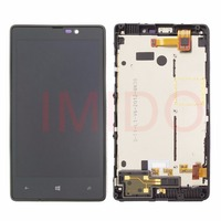 For Nokia Lumia 820 RM 825 LCD Display Touch Screen Digitizer Assembly Frame Replacement Parts
