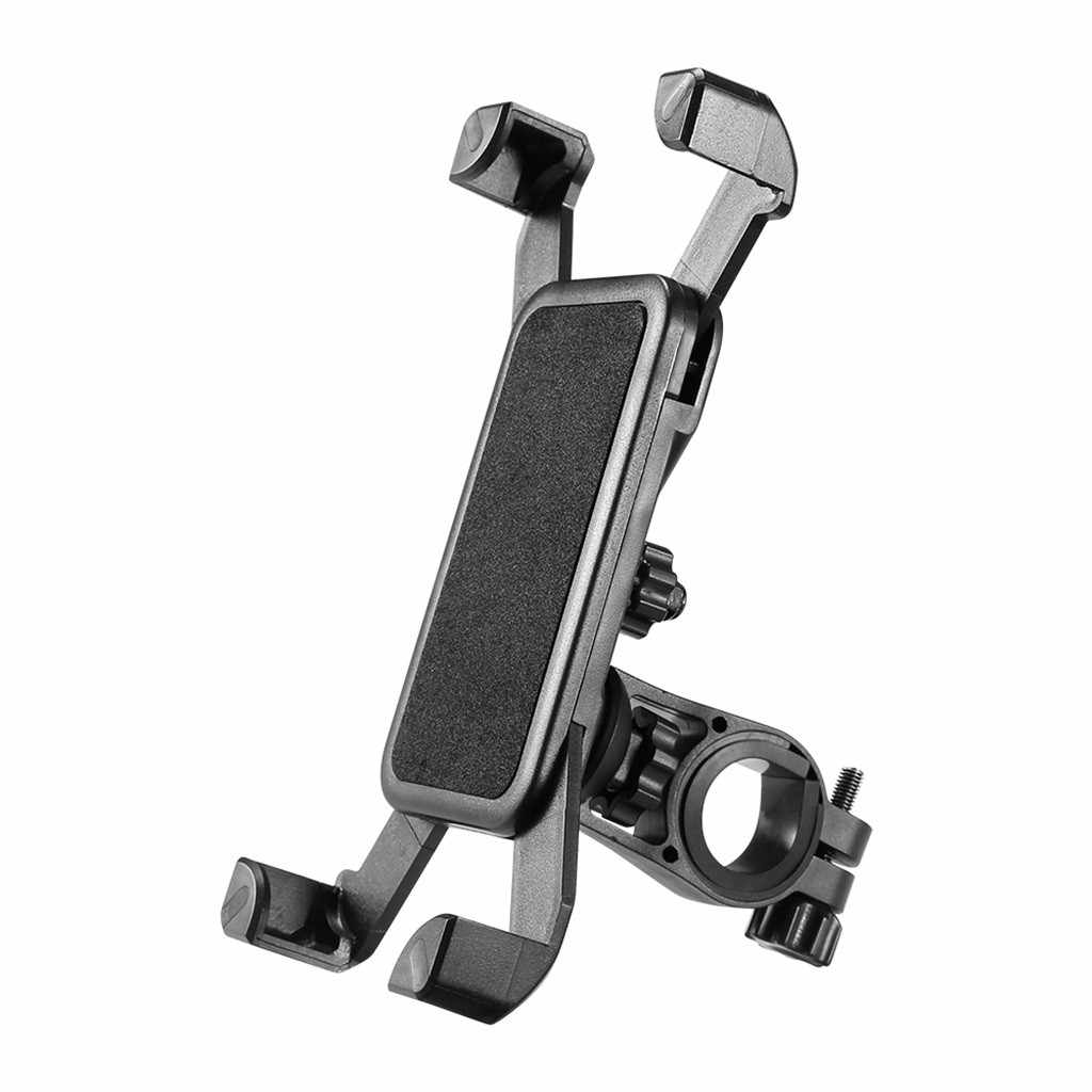 Adjustable Phone Holder 360°Rotation  Bicycle Motorcycle Handlebar Universal Bike Mount Black For iPhoneXS/Max  #TWJ