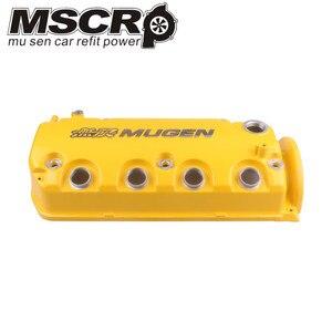 Image 2 - Крышка камеры клапана MUGEN типа R для Honda Civic D16Y8 D16Y7 VTEC SOHC