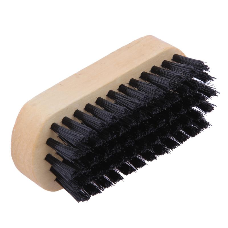 Shaving & Hair Removal 1pc Beard Brush For Men Facial Face Massager Nylon Hair Shaving Brush Wood Handle Massage Cleaner Comb