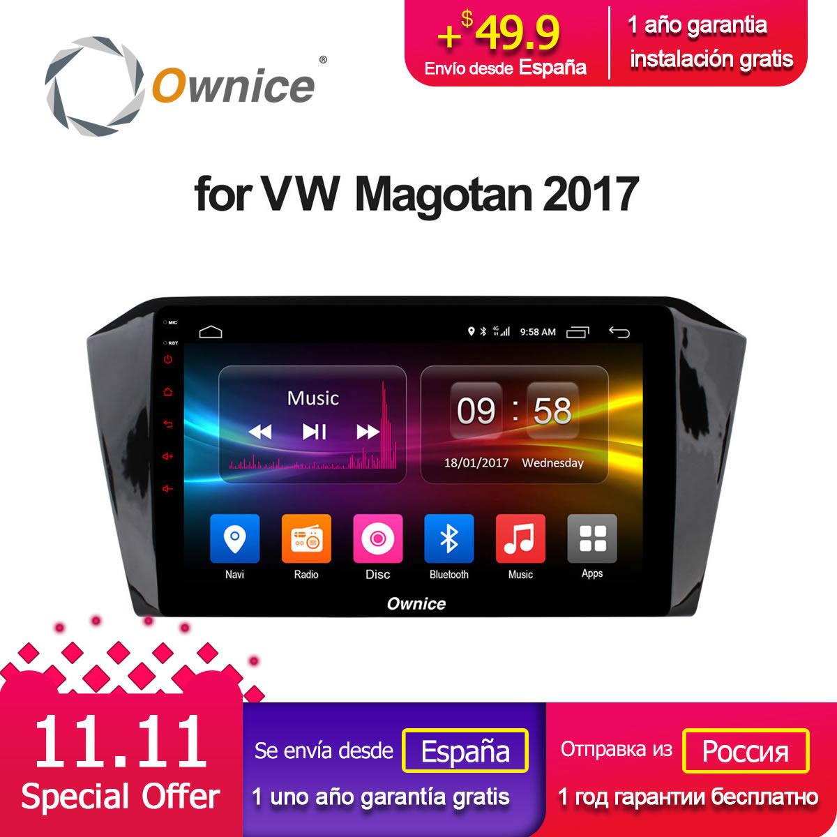 Ownice C500+ G10 10.1 Car DVD Player 8 Octa Core Android 8.1 GPS For Volkswagen Golf 7 MK7 VII 2017 2 din Radio 2GB Support 4G ownice c500 4g sim lte octa 8 core android 6 0 for kia ceed 2013 2015 car dvd player gps navi radio wifi 4g bt 2gb ram 32g rom