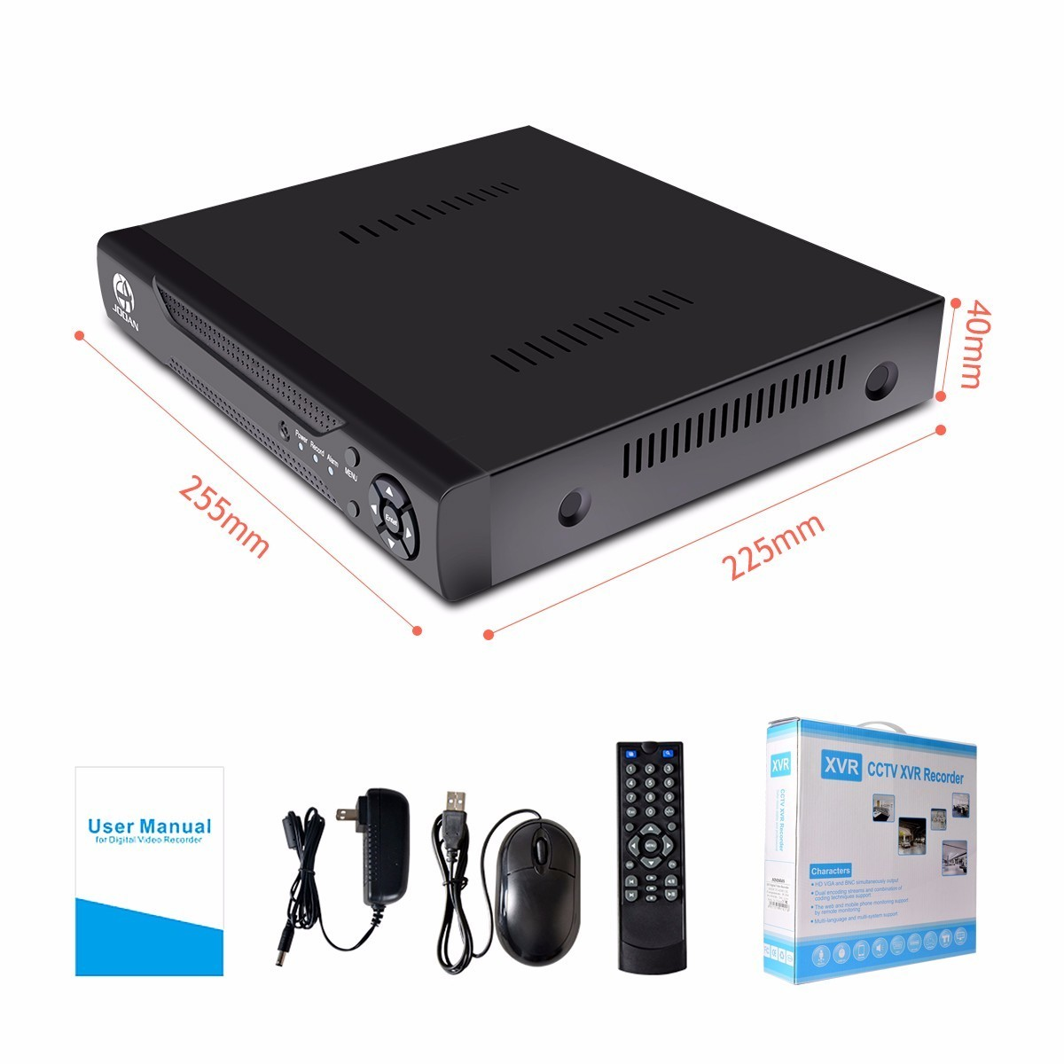 Image 5 - JOOAN  16CH CCTV DVR H.264 HD OUT P2P Cloud Video Recorder Home Surveillance Security CCTV Digital With ONVIF-in Surveillance Video Recorder from Security & Protection