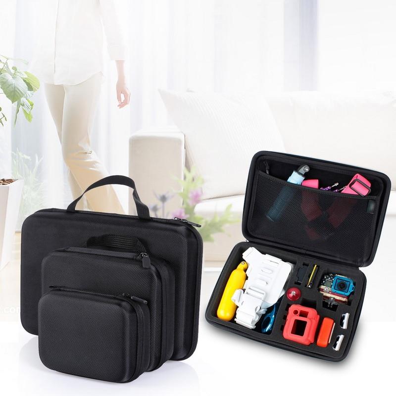 Portable EVA Waterproof Hard Case Box Bag Black For GoPro Hero HD 4 3 3 2