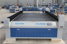 1500*3000 1mm stainless steel metal laser cutter,co2 cutting machine for wood acrylic 20mm