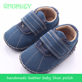 handmade Infant Toddler baby Shoes moccasin mat genuine Leather Baby  First Walkers Antislip shoes For Baby Boy Girl rubber sole