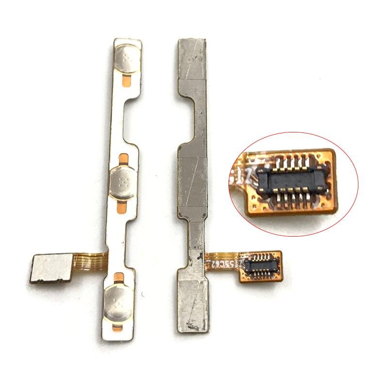 Para ZTE Lâmina A610 Plus/A2 plus Power ON OFF Botão Side Ribbon Cable flex Chave