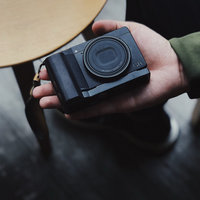 African Black wood Wooden Wood Hand Grip Plate Bracket For with Alum Base Plate Bracket For Ricoh GR3 GRIII