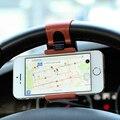 FLOVEME Universal Car GPS Navegar Soporte Volante Titular Del Teléfono para iphone 4 5 se 6 6 s para samsung s4 s5 s6 s7 borde