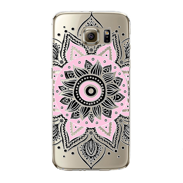 Floral Paisley Flower Mandala Henna Phone Case For Samsung Galaxy S5 S6 S6Edge S6edgeplus S7 S7edge