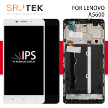 100 Tested for Lenovo A5600 A5860 LCD Screen LCD Display Touch Screen Replacement Screen With Frame