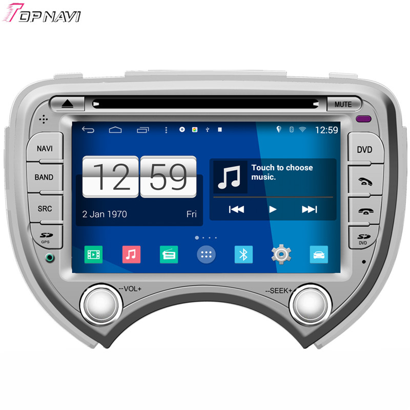 Top Free Shipping 7'' Winca Quad Core S160 Android 4.4 Car DVD GPS For Nissan March With Mirror Link Stereo Radio Audio Wifi BT