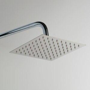 Image 4 - Monite 크롬 폴란드어 샤워 꼭지 욕실 8 인치 강우량 벽 마운트 샤워 세트 믹서 수도꼭지 높이 핸드 헬드 기능 조정