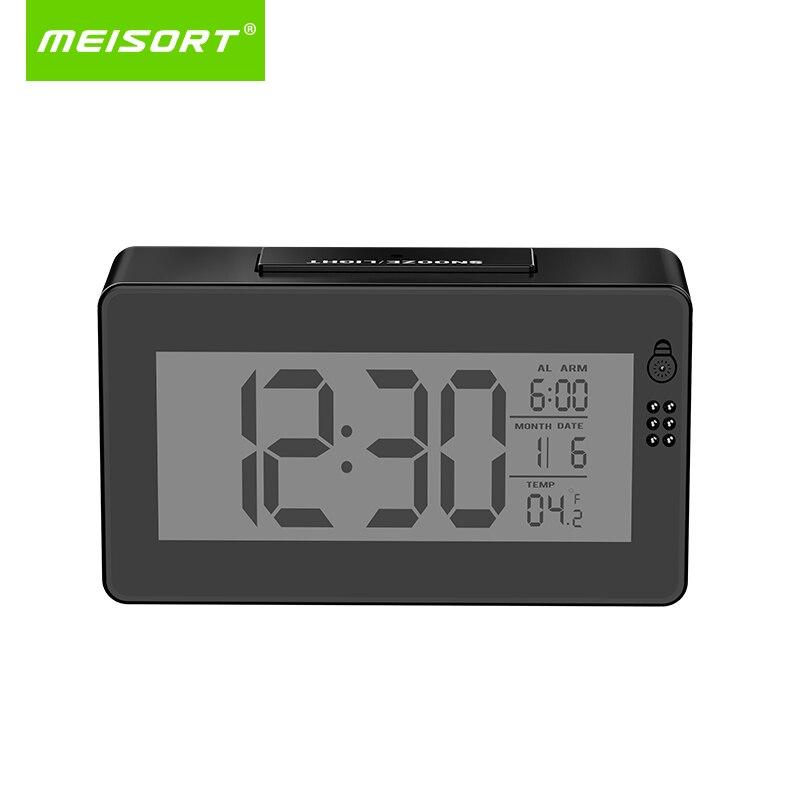 Meisort часы Беспроводной P2P Wi-Fi IP Камера 1080 P инфракрасный Ночное видение видео Камеры Скрытого видеонаблюдения CCTV