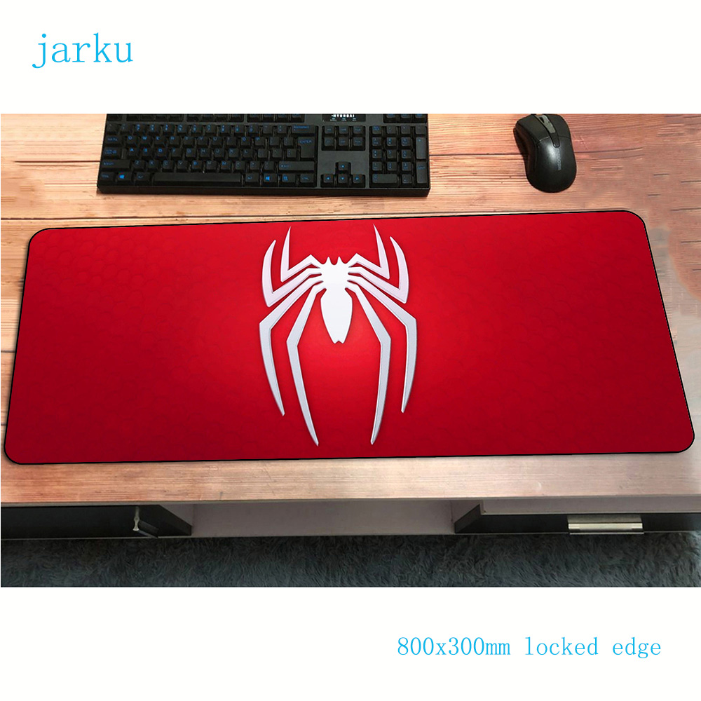Spider-Man Mouse Pad Customized 800x300x2mm Gaming Mousepad Gamer Mouse Mat Computer Personality Desk Padmouse Large Play Mats