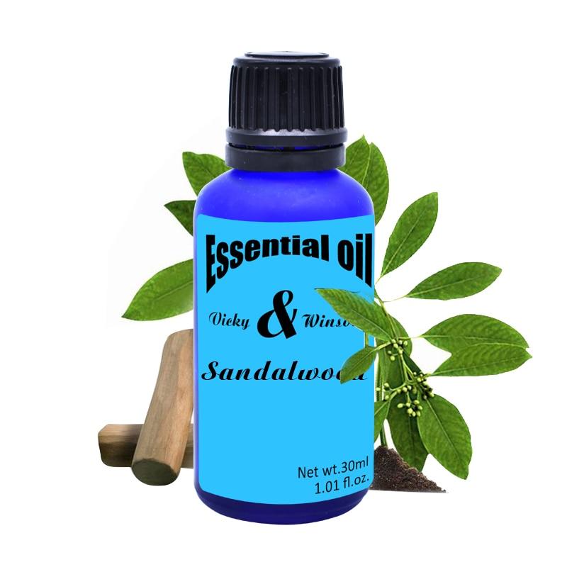 Vicky & winson szantálfa aromaterápiás illóolajok Tisztítsa meg a szív és a meditáció indiáját 100% -ban természetes VWXX19