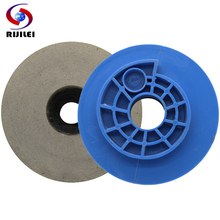 цена на RIJILEI 456 inch Snail Lock Diamond Resin Polishing pad Edge Chamfer polishing block for Marble granite Resin grinding disc