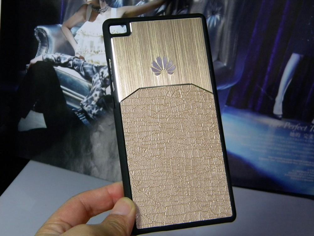 Dla huawei p8 lite case p9 lite plus honor 8 p9 pokrywy hybird Szczotkowanego aluminium Metal z Luksusowych Skóry materiał darmowa wysyłka 12