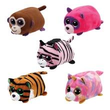 Big Eyes Plush Toy Brush Teeny Series Tiger Unicorn Zebra Bear Monkey animal Toys for Baby PP Cotton Small Pendant