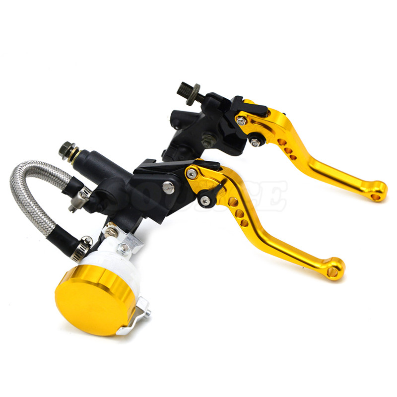 free shipping  motorcycle CNC  Aluminum Adjustable brake clutch lever& brake pump  For BMW S1000RR  2015 2016 S1000R 2015 2016 free shipping motorcycle cnc aluminum adjustable brake clutch levers