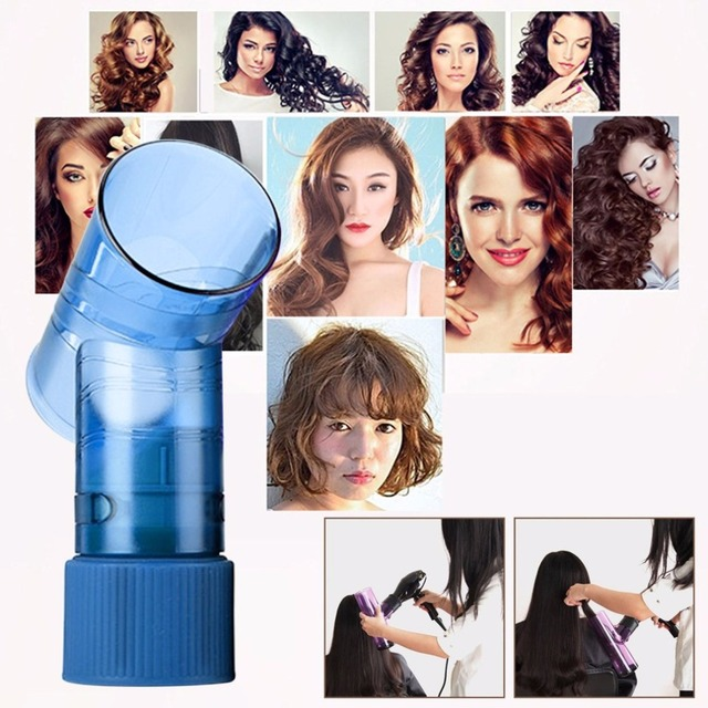 DIY Hair Diffuser Salon Magic Hair Roller Drying Cap Blow Dryer Wind Curl Hair Dryer Cover Hair Care Styling Tools Accessory 2