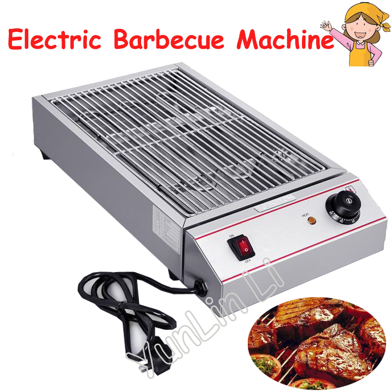 Electric Barbecue Machine Smokeless Flat Grilling Machine Household Outdoors Barbecue Stove Electric Grill Pan ESK-1 sc 05 burner infrared barbecue somkeless barbecue grill bbq gas infrared girll machine stainless steel smokeless barbecue pits