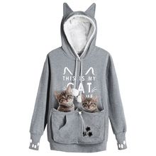 07966388ae7c Buy cat paw hoodie and get free shipping on AliExpress.com