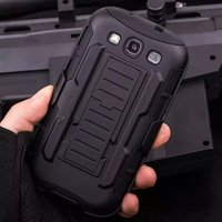 Cool Military Impact Rugged Hybrid Silicone PC Case For Samsung Galaxy S3 S4 S5 Mini S6