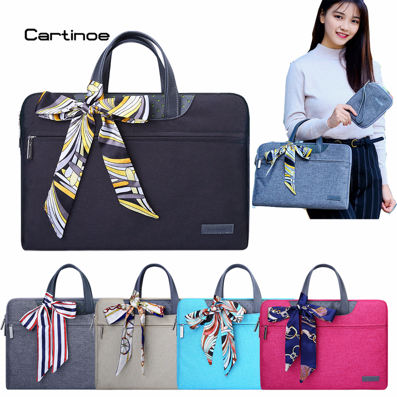 Fashionable Brand Laptop Bag 15.6 14 13 12 11 inch Laptop Case Computer Sleeve Briefcase Women Handbag for Macbook Air Pro Case notebook bag 12 13 3 15 6 inch for macbook air 13 case laptop case sleeve for macbook pro 13 pu leather women 14 inch