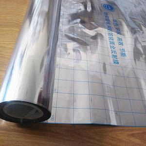 0.03mm0.06mm Electric Underfloor Heating System Aluminum Foil Insulation High Quality Mirror Reflection Film 2m2lot