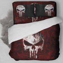 Fanaijia 3d постельного белья Прохладный Дизайн узор постельное белье США 3 шт. простыня наволочка полный близнец двуспальное постельное белье