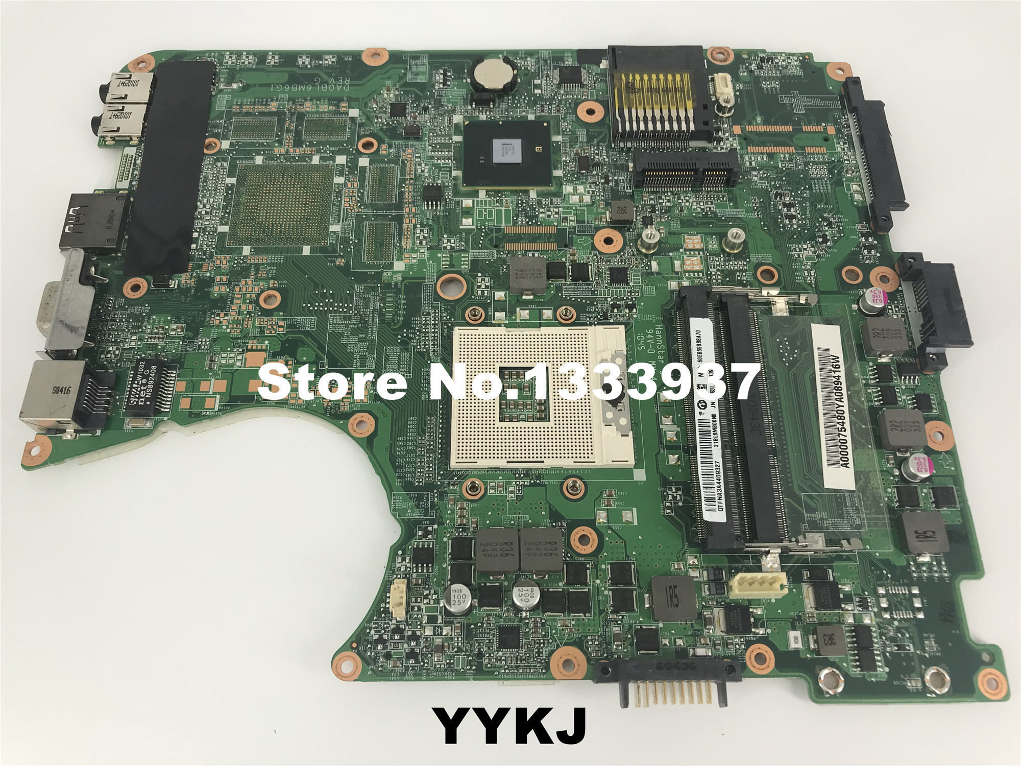 Sunga placa mãe toshiba satélite l655 l650, placa mãe para laptop a000075480 intel hm55 gma hd ddr3 «mainboard