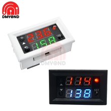 цена на DC 12V Dual Double 2 Display Time Relay Module Time Delay Relay Mini LED Digital Timer Relay Cycle Time Control Switch Home