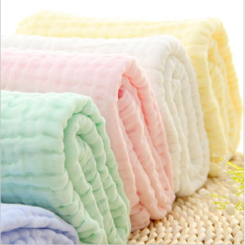 Купить с кэшбэком Baby Muslin Blankets Swaddling Six Layer 100% Cotton Swaddle Wrap for Newborn Babies Character Floral Printed Bath Towel
