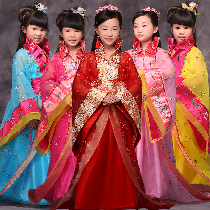 ancient chinese clothes costume for girls princess