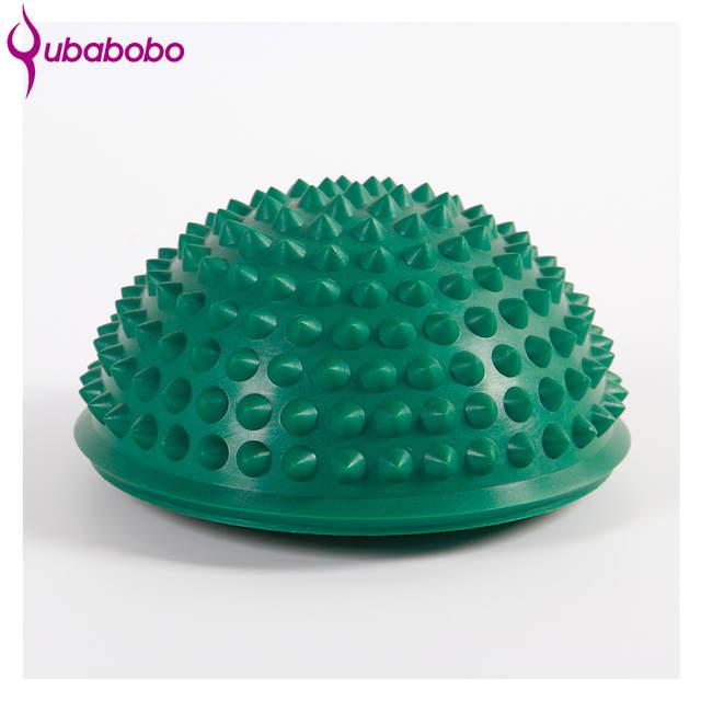 8ef4e11dc6 Meia Bola de Yoga Aptidão Física Aparelho Equilíbrio Exercício Bola De  Ginástica Massagem Ponto Stepping Stones