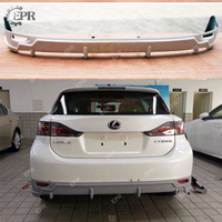 For Lexus CT200h (2011+) TM Style FRP Glass Fiber Rear Under Spoiler Body Kit Tuning Part Trim For CT200h Fiberglass Spoiler