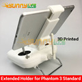Extended Holder Remote Controller Bracket Tablet Clamp Clip Support 7-10in Tablet for Phantom 3 Standard