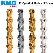 KMC chain 10 11 speed X11SL X11L X10L X10.93 X8PL gold silver super light mtb road bicycle  116L /chain bike