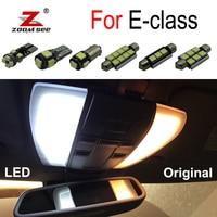 100% White Error Free LED Bulb Interior Dome Map Light Kit For Mercedes Benz E class W210 W211 W212 S210 S211 S212 (1995 2015)