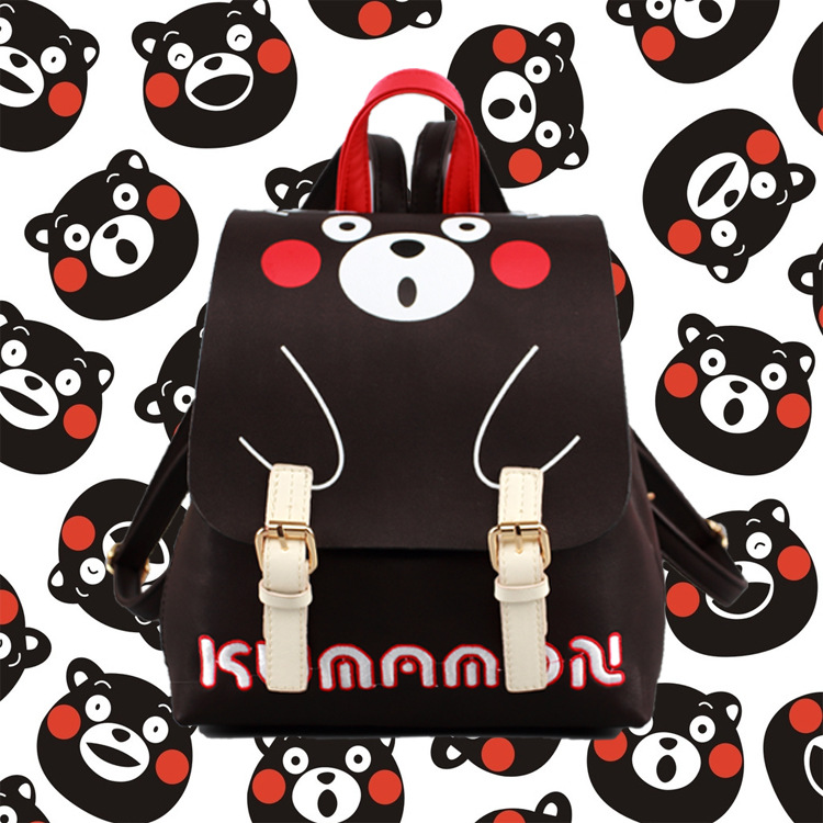 Anime Kumamon Cosplay Cute male and female student bags casual fashion backpack child birthday gift anime assassination classroom cosplay fashion casual men and women travel bags birthday gift