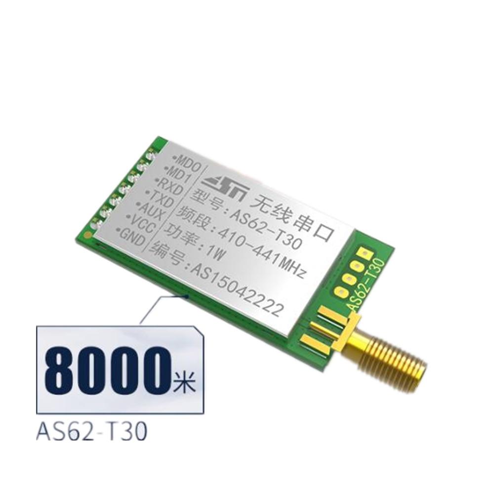 SX1278 / SX1276 Wireless Module | 433MHZ Wireless Serial Port | LORA Spread Spectrum 8000m | UART Interface wireless module 433mhz digital broadcasting station lora spread spectrum rs232rs485 5km remote